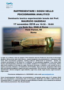 SGAI - Seminario teorico esperenziale tenuto dal Prof. Maurizio Gasseau