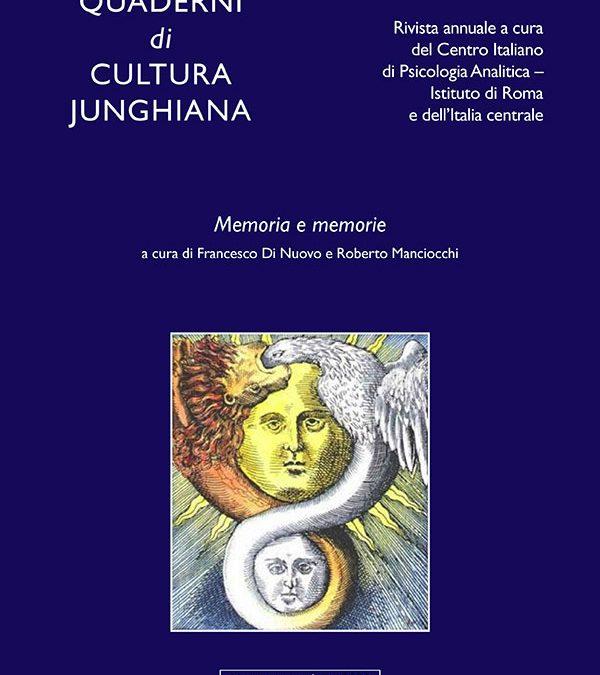 CIPA Quaderni di Cultura Junghiana N°1/2020