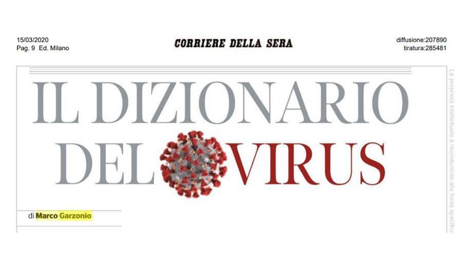 dizionario del virus garzonio